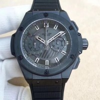 Réplique Hublot Big Bang King Power Foudroyante All Black 715.CI.1110.RX cadran noir en céramique
