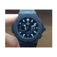 Réplique Hublot Big Bang Maradona Black Ceramic Black Dial