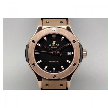 Réplique Hublot Big Bang or rose cadran noir