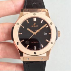 Replica Hublot Classic Fusion King Gold 511.OX.1181.LR Rose Gold Black Dial