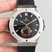 Réplique Hublot Classic Fusion Tourbillon Night Out 505.CS.1270.VR PVD cadran noir