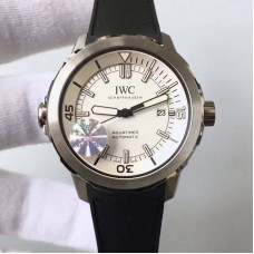 Replica IWC Aquatimer Automatic IW329001 V6 Stainless Steel White Dial