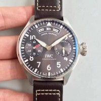 Replica IWC Big Pilot Annual Calendar Le Petit Prince IW502703 Stainless Steel Anthracite Dial