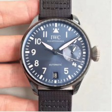Replica IWC Big Pilot Edition Boutique Rodeo Drive IW502003 Stainless Steel Blue Dial