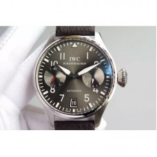 Replica IWC Big Pilot IW500910 Power Reserve Stainless Steel Gray Dial