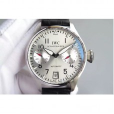 Replica IWC Big Pilot IW500910 Power Reserve Stainless Steel White Dial