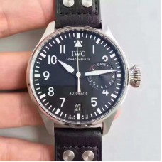 Replica IWC Big Pilot IW500912 Stainless Steel Black Dial