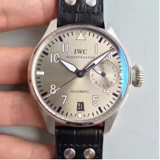 Replica IWC Big Pilot IW500912 Stainless Steel Silver Dial