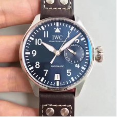 Replica Iwc Big Pilot Le Petit Prince IW500916 Stainless Steel Blue Dial