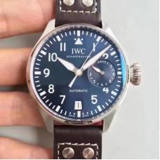 Réplique IWC  Le Grand Prince IW500916 Cadran Bleu En Acier Inoxydable
