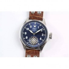 Replica IWC Big Pilot Markus Buhler IW5003 Stainless Steel Blue Dial