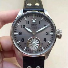Replica IWC Big Pilot Markus Buhler IW5003 Stainless Steel Gray Dial
