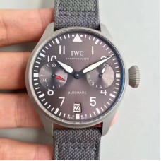 Replica IWC Big Pilot Patrouille Suisse IW500910 Stainless Steel Blasted Anthracite Dial