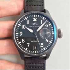 Replica IWC Big Pilot Top Gun IW501901 Ceramic Black Dial