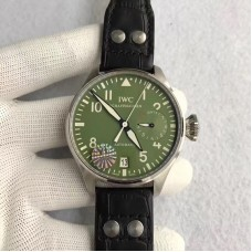 Replica IWC Big Pilot Zeeg Cerlati IW500407 Stainless Steel Green Dial
