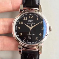 Replica IWC Da Vinci Automatic IW356601 TW Stainless Steel Black Dial