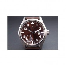 Replica IWC Pilot Antoine De Saint Exupery IW320102 42MM Power Reserve Stainless Steel Brown Dial