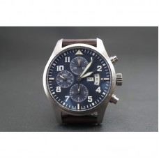Replica IWC Pilot IW377706 Le Petit Prince Stainless Steel Blu Dial