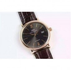 Replica IWC Portofino Automatic IW356511 Rose Gold Gray Dial