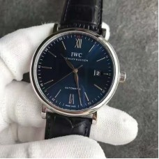 Replica IWC Portofino Boutique Edition IW356512 Stainless Steel Blue Dial