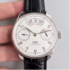 Replica IWC Portugieser Annual Calendar IW503501 Stainless Steel White Dial