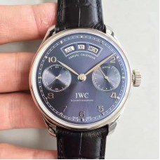 Replica IWC Portugieser Annual Calendar IW503502 Stainless Steel Blue Dial