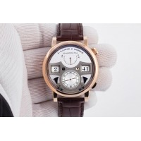 Réplique A. Lange & Sohne Zeitwerk Striking Time 18K Or Rose Homme 145.032