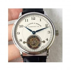 Replica A. Lange & Sohne 1815 Tourbillon 730.025 Stainless Steel White Dial