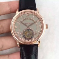 Réplique A. Lange & Sohne 1815 Tourbillon 730.032 Cadran Gris Or Rose