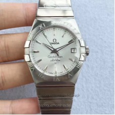 Replica Omega Constellation 123.10.38.21.02.004 38MM Stainless Steel Silver Dial