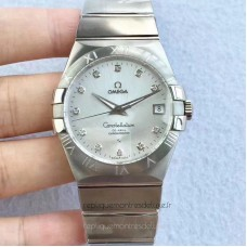 Replica Omega Constellation 123.10.38.21.52.001 38MM Stainless Steel Silver Dial