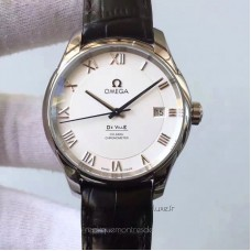 Replica Omega De Ville 431.13.41.21.02.001 41MM MK Stainless Steel White Dial