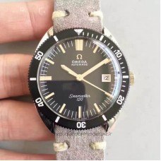 Replica Omega Seamaster 120 Vintage 135.0027 1969 Stainless Steel Black Dial