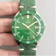 Replica Omega Seamaster 120 Vintage 135.0027 1969 Stainless Steel Green Dial