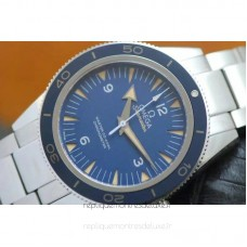 Replica Omega Seamaster 300 Stainless Steel Blue Dial