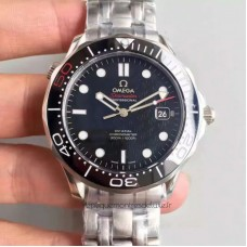 Replica Omega Seamaster 300M James Bond 007 50th Anniversary 212.30.41.20.01.005 Stainless Steel Black Dial