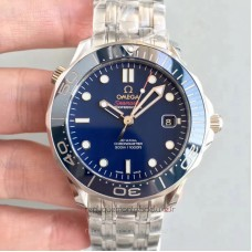 Replica Omega Seamaster Diver 300M 212.30.41.20.03.001 Stainless Steel Blue Dial