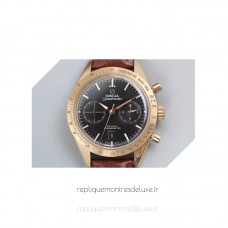 Replica Omega Speedmaster 57 Chronograph 41MM Rose Gold /Stainless Steel Black Dial