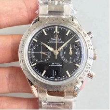 Replica Omega Speedmaster 57 Co-Axial Chronograph 41.5MM 331.10.42.51.01.001 Stainless Steel Black Dial