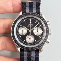 Réplique Omega Speedmaster Moonwatch Speedy Tuesday 1978 311.32.42.30.01.001 Acier inoxydable Noir Dial