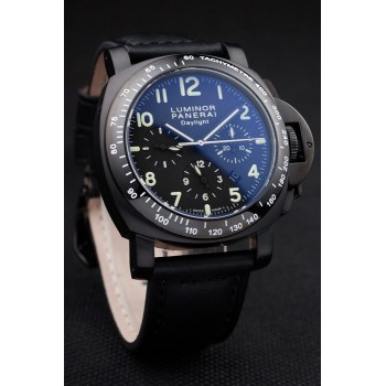 Réplique Montre Panerai Luminor CHRONO DAYLIGHT 44MM noir