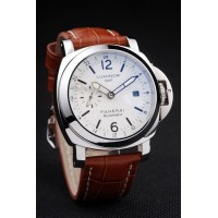 Réplique Montre Panerai Luminor 3 Days Automatic GMT cadran blanc