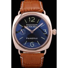 Panerai Radiomir black seal rose gold