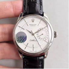 Replica Rolex Cellini Date 50519 Stainless Steel White Dial