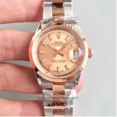Replica Rolex Datejust 31 178241 31MM Stainless Steel & Rose Gold Champagne Dial