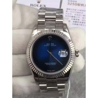 Replica Rolex Datejust 41 Lapis Lazuli HK Stainless Steel Blue Dial