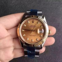 Replica Rolex Datejust II 116333 41MM Stainless Steel & Yellow Gold Champagne Dial