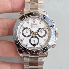 Replica Rolex Daytona Cosmograph 116500LN Stainless Steel White Dial