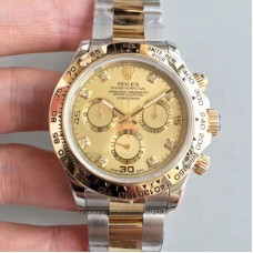 Replica Rolex Daytona Cosmograph 116503 3A 18K Yellow Gold Wrapped & Stainless Steel Champagne Dial