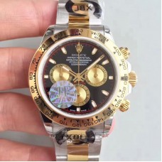 Replica Rolex Daytona Cosmograph 116503 Stainless Steel & Yellow Gold Black & Champagne Dial